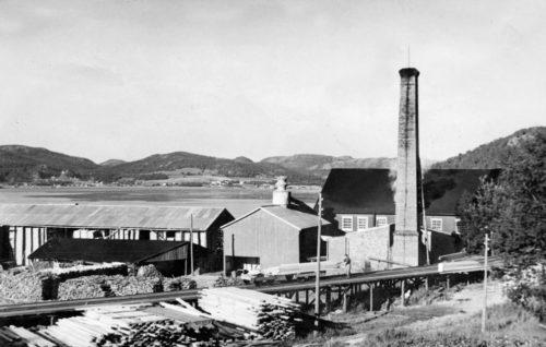 Spillumbruket 1930-tallet. Giver Kåre Sannan.
